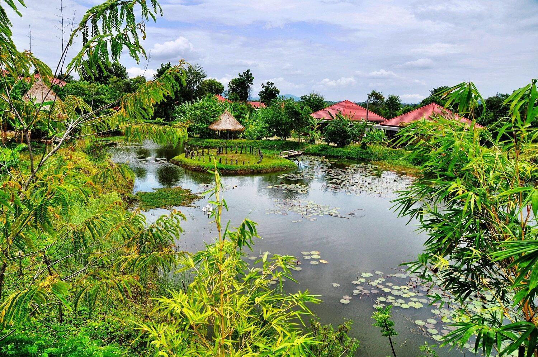 Eco retreat in Pailin